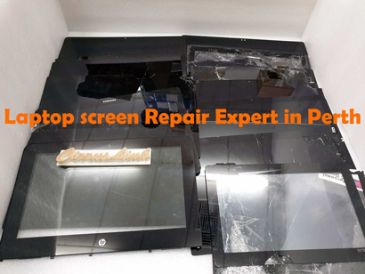 laptop tablet touch display screen replacement in perth