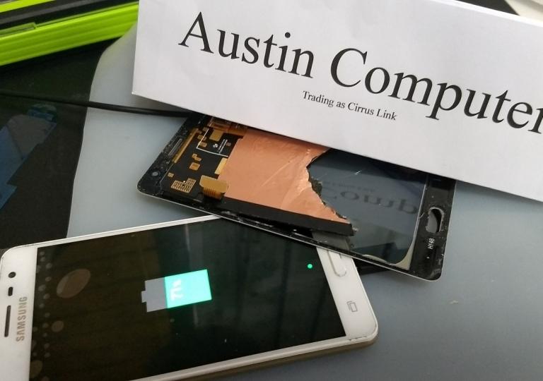 170906 - mobile phone screen repair